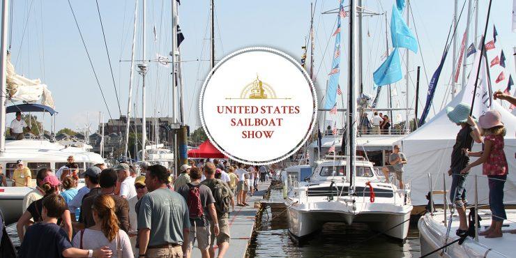 There's no better way to get your sailing fix than at the 2016 U.S. Sailboat Show on the historic Annapolis waterfront.