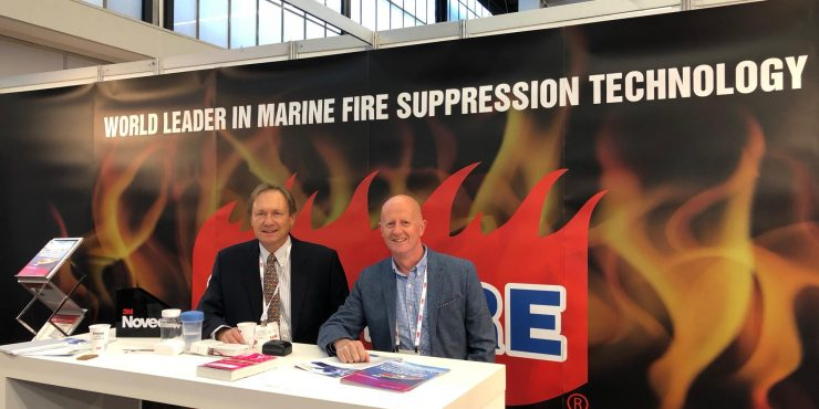 Visit Sea-Fire at the Marine Equipment Trade Show (METS) in Amsterdam, Netherlands.