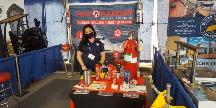 Come visit us at the St Petersburg & Stuart Boat Shows. We're Exhibiting with our local distributor, Fire Ranger Marine